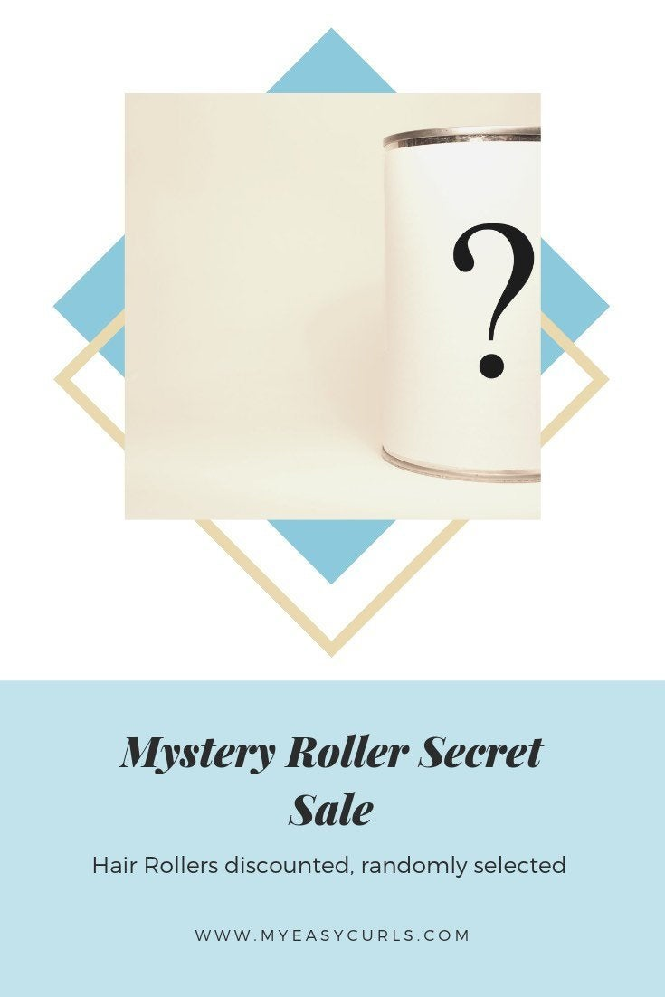 Mystery Print Cotton Hair Roller