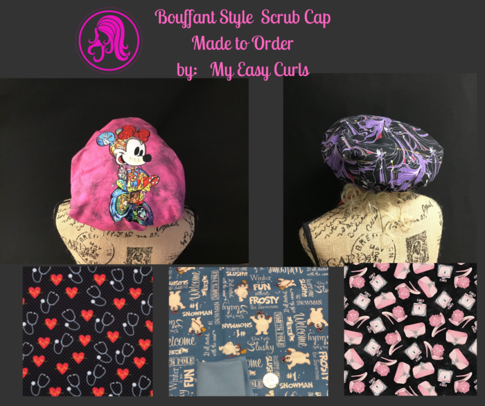 Made to Order Bouffant Scrub Cap